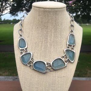 Avon Statement Blue Necklace